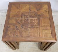 Teak Nest of Three Tables by G-Plan - SOLD